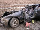 obrázek ke článku: Vybráno z archivu – tři lidské životy vyhasly při dopravní nehodě u Nivnice
