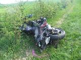 obrázek ke článku: Nedal přednost motorkáři a ten utrpěl těžká zranění