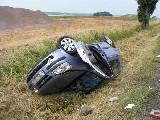 obrázek ke článku: Bývalá silnice smrti u Hradce Králové opět zabíjela