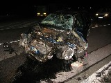 obrázek ke článku: Čelní střet Fordu Scorpio a tahače Renault u Hořic v Podkrkonoší