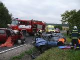 obrázek ke článku: Další oběť dopravní nehody po srážce dvou Škodovek – foto+video