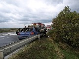 obrázek ke článku: Nebezpečné předjíždění příčinou autonehody při níž uhořel člověk