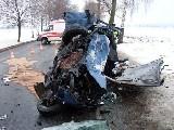 obrázek ke článku: Vysoká rychlost příčinou tragické dopravní nehody u obce Lezník