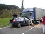 obrázek ke článku: Tragická dopravní nehoda u Valašského Meziříčí