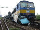 obrázek ke článku: Fiat Punto versus 605 tun těžká vlaková souprava