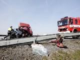 obrázek ke článku: Riskantně předjížděl a následnou autonehodu nepřežil