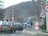obrázek ke článku: Video - Řidiči nerespektují výstražná znamení na přejezdech
