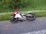 obrázek ke článku: Spolujezdkyně z motocyklu nepřežila dopravní nehodu u Všestar
