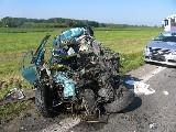 obrázek ke článku: Následky dopravní nehody na trase Hradec - Jičín si vyžádaly další život