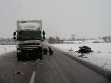 obrázek ke článku: Mezi Vysokým Mýtem a Zámrskem se stala smrtelná dopravní nehoda