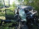 obrázek ke článku: Náraz do stromu u Choryně si vyžádal jeden lidský život