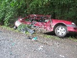 obrázek ke článku: Řidička v Toyotě zemřela při srážce s náklaďákem