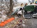 obrázek ke článku: Nezapnul si pásy a po nárazu do stromu zemřel