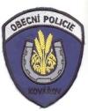 Městká policie Kovářov
