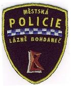 Městká policie Lázně Bohdaneč